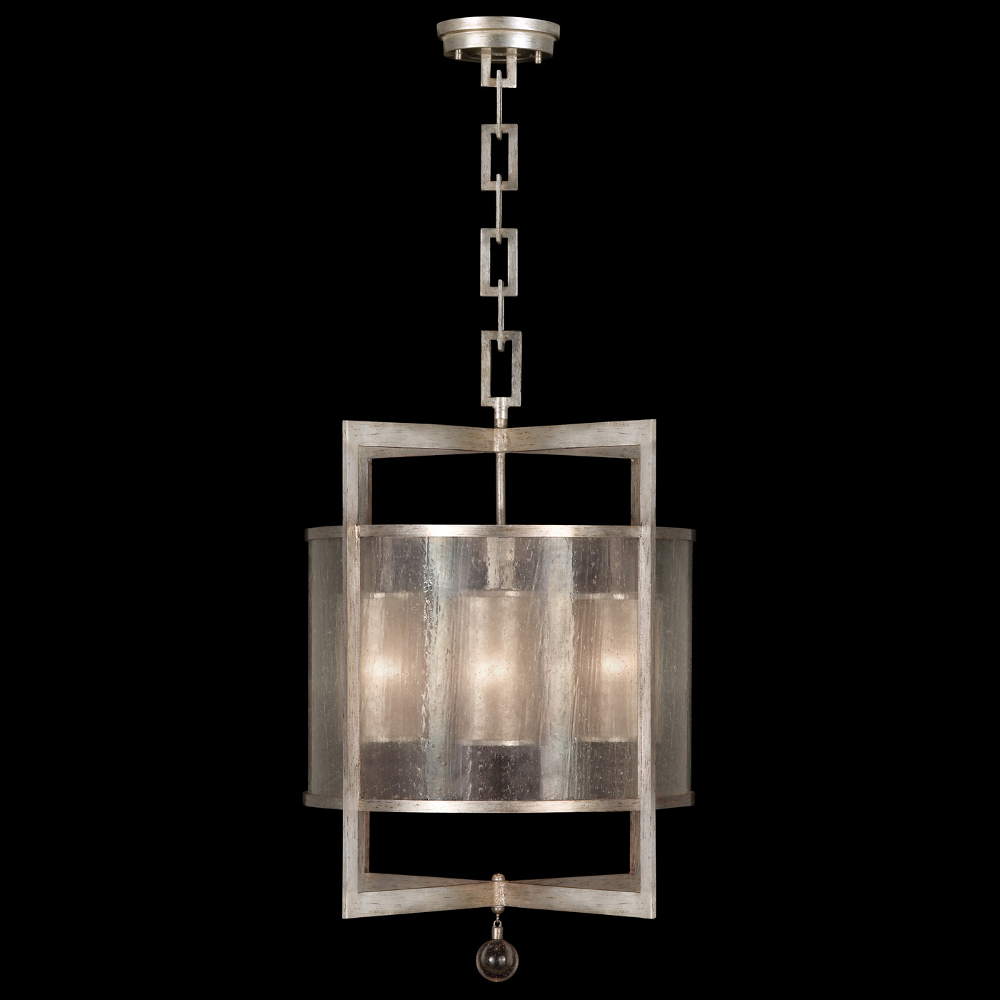 Singapore moderne tall pendant by fine art lamps