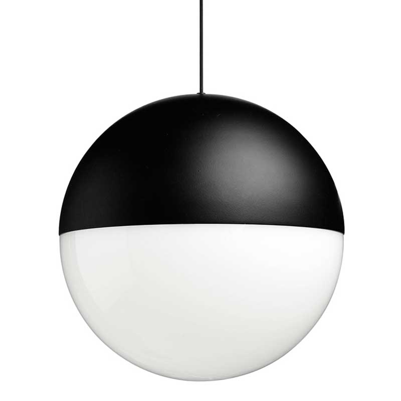 string lights round pendant by flos lighting f6480030 fu648230. Black Bedroom Furniture Sets. Home Design Ideas