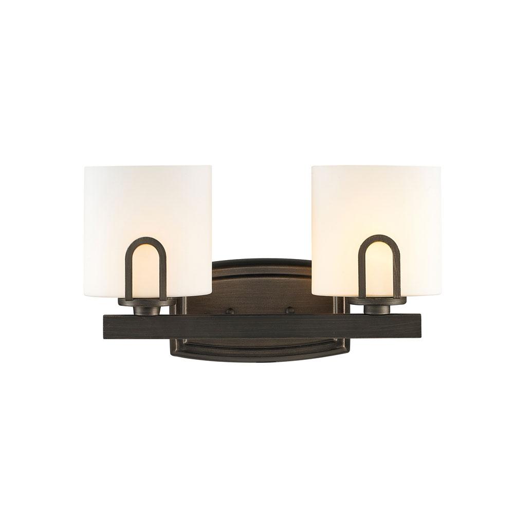 Presilla Bath Bar By Golden Lighting 9363 Ba2 Gmt Op
