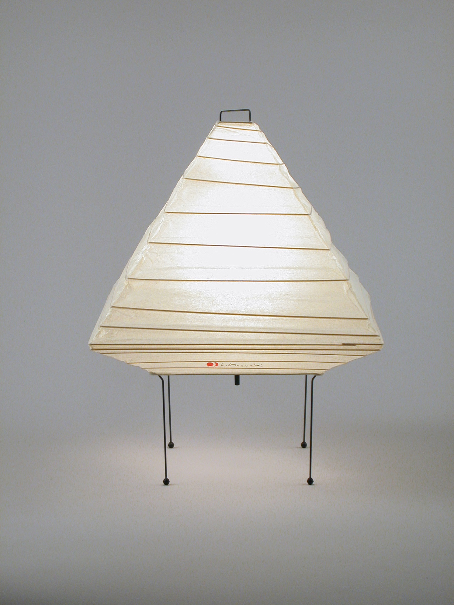 Table lamp by akari 5x pyramid table lamp download image geotapseo Images