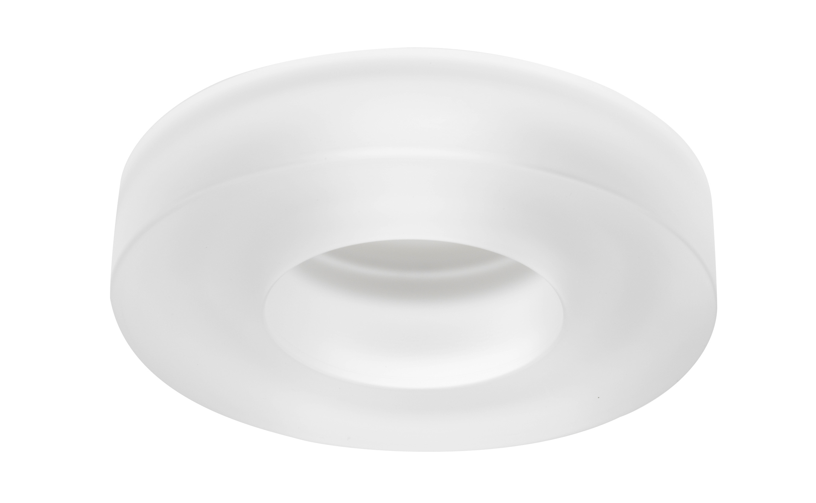 4180 Series 4 Inch Frost Solid Gl Collar Trim By Juno Lighting 4180frost