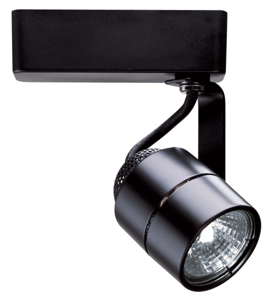 Mr16 cylinder track fixture 12v by juno lighting r701bl r701 mr16 cylinder track fixture 12v by juno lighting r701bl mozeypictures Image collections