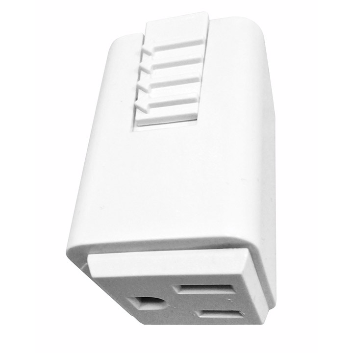 Juno Lighting Single Circuit Track: T33 Outlet Adapter By Juno Lighting