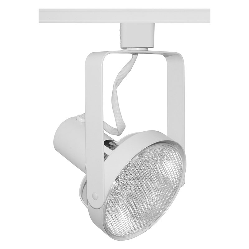 T690 Par38 Front Lamp Gimbal Track Fixture 120v By Juno Lighting T690wh