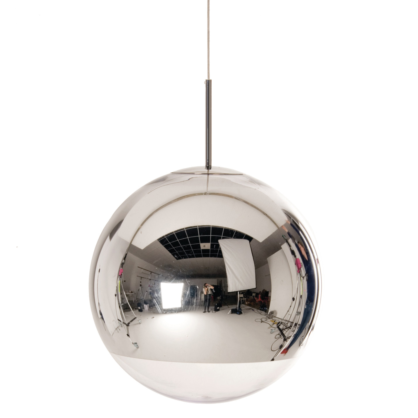 Mirror ball pendant by tom dixon mbb50aul aloadofball Choice Image