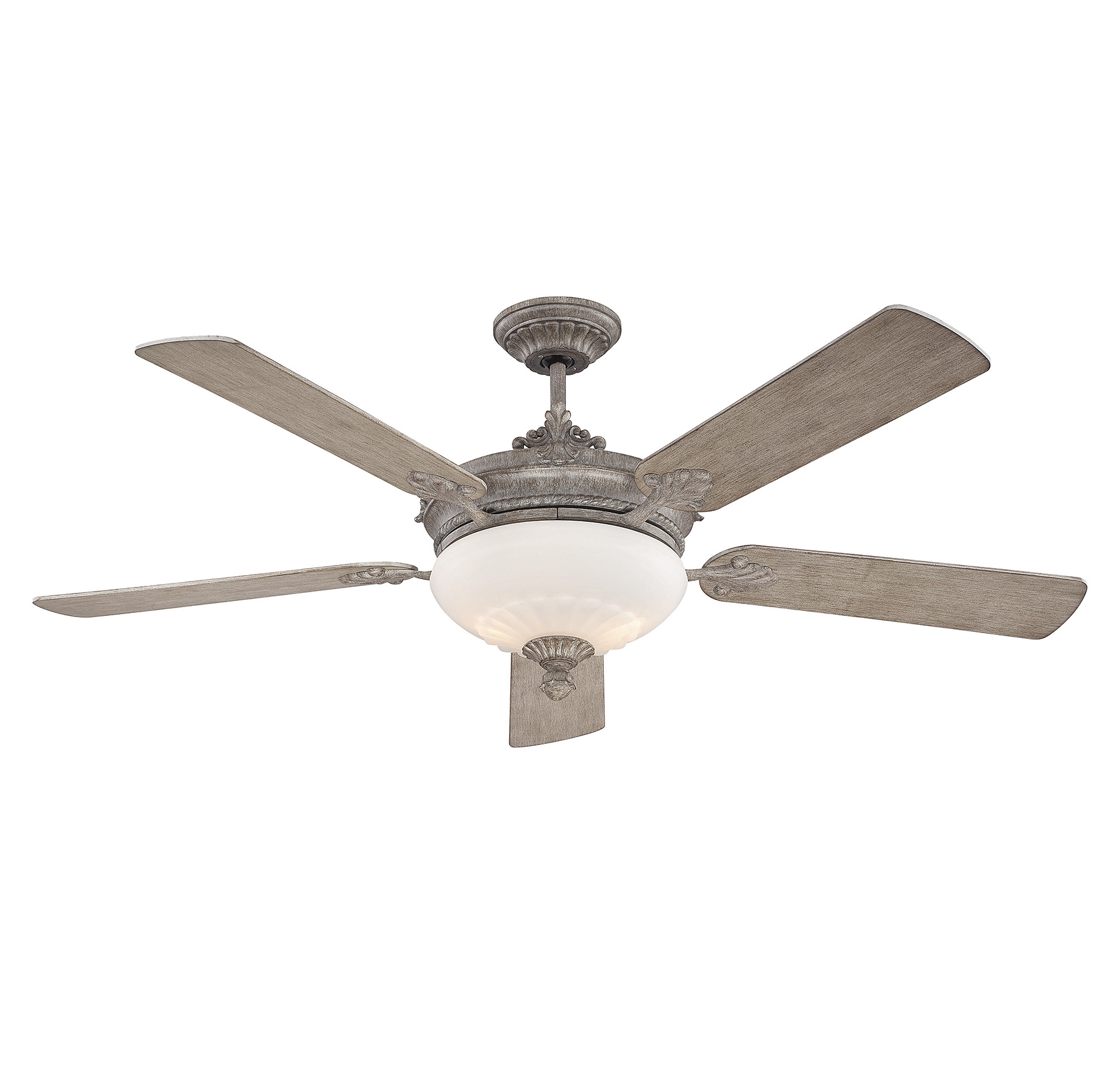 ceiling improvement amazon fans fan odyn nickel led inch home dp brushed large com fanimation