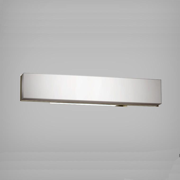 cube bathroom vanity light chrome by blackjack lighting cub24vpc