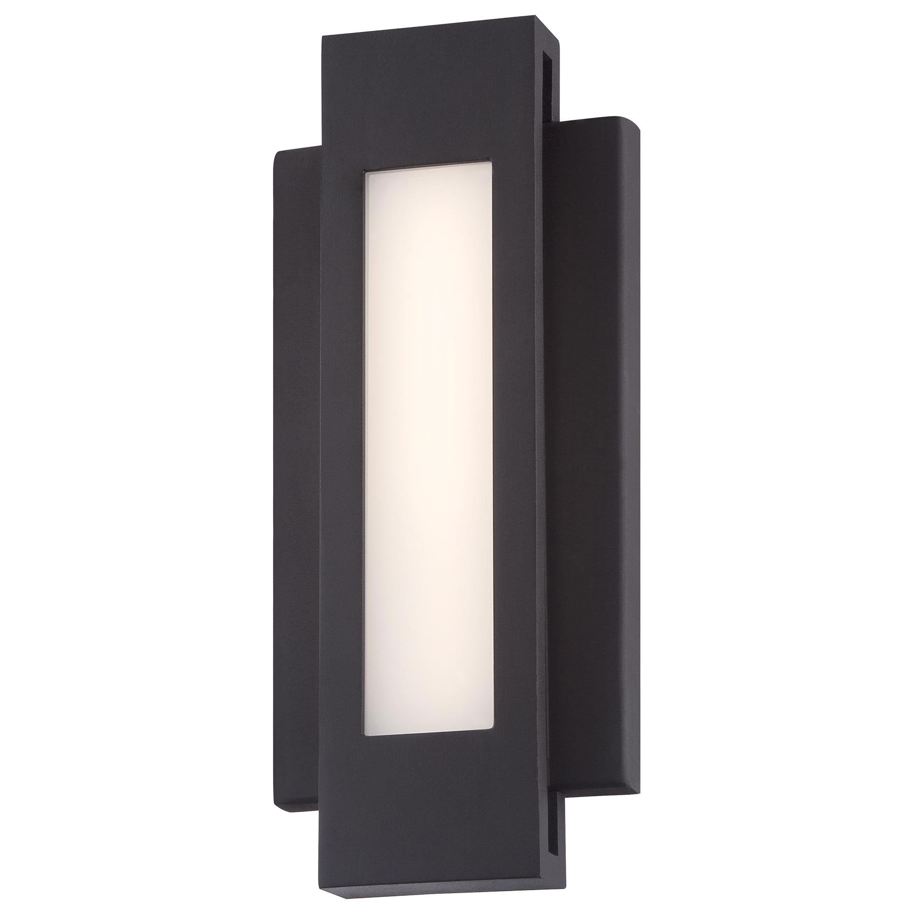 Insert outdoor led wall sconce by george kovacs