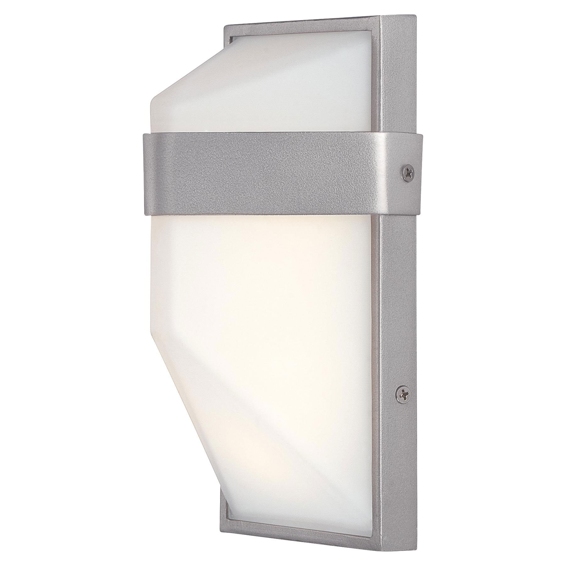 Wedge Exterior Wall Lights : Wedge Outdoor LED Wall Sconce by George Kovacs P1236-566-L