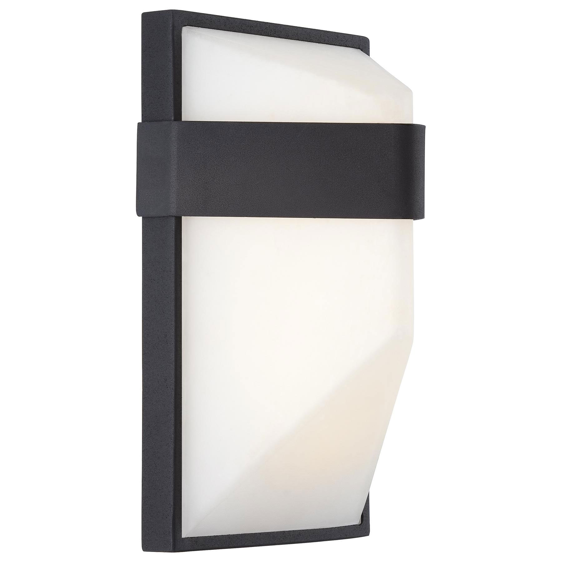 Wedge Exterior Wall Lights : Wedge Outdoor LED Wall Sconce by George Kovacs P1236-066-L