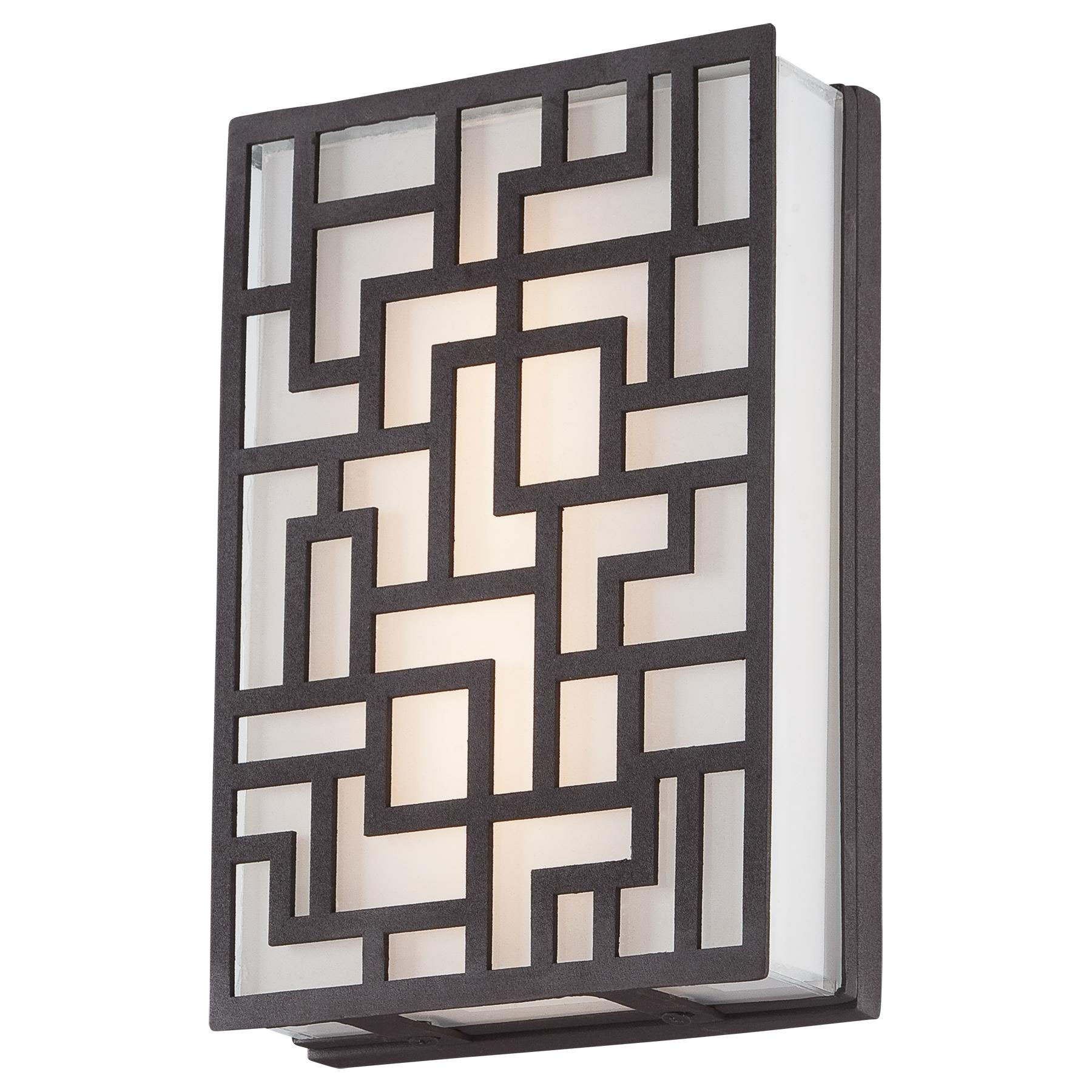 Aleciau0027s Necklace Outdoor LED Wall Sconce By George Kovacs | P1221 287 L