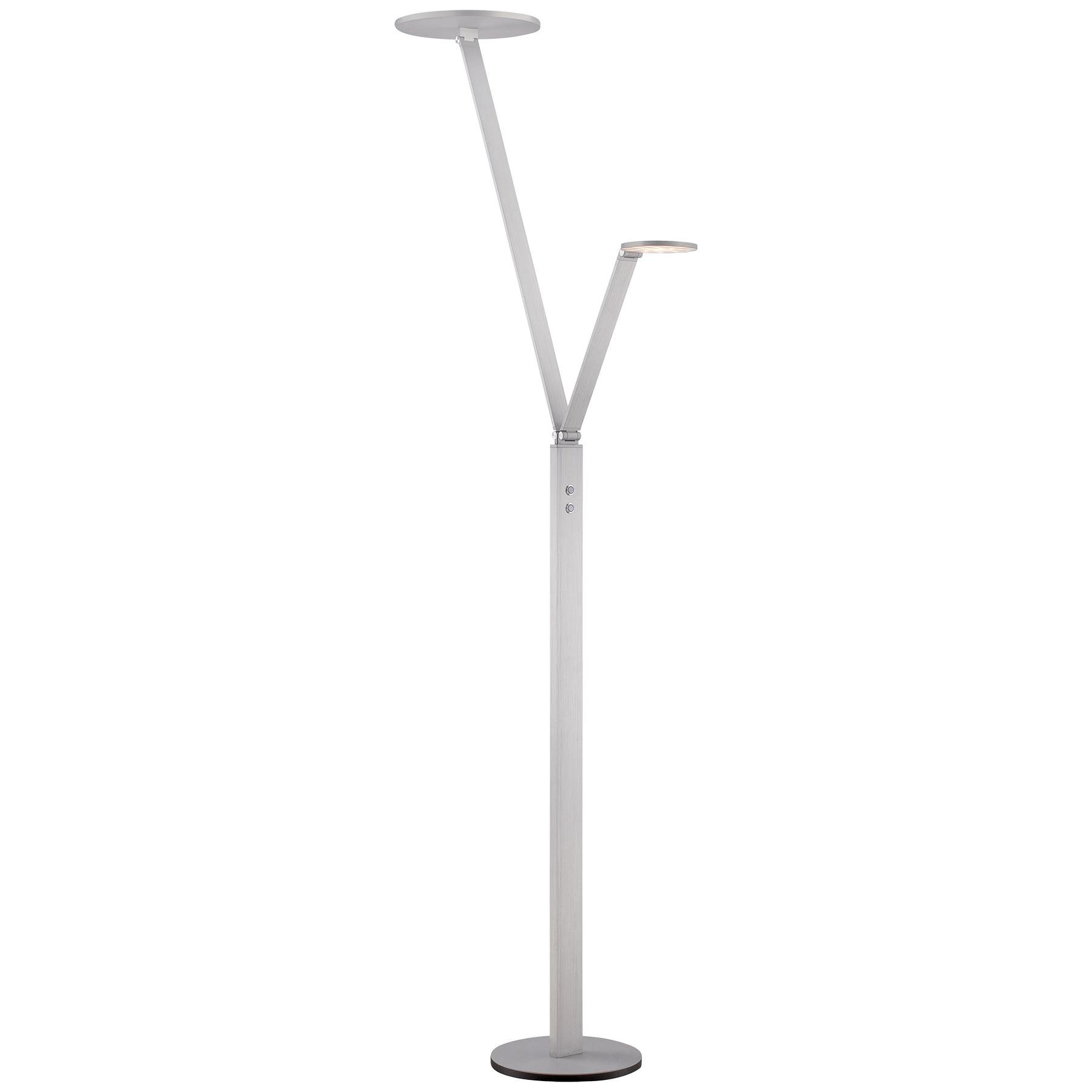 P305 Double LED Floor Task Lamp By George Kovacs | P305 3 654 L