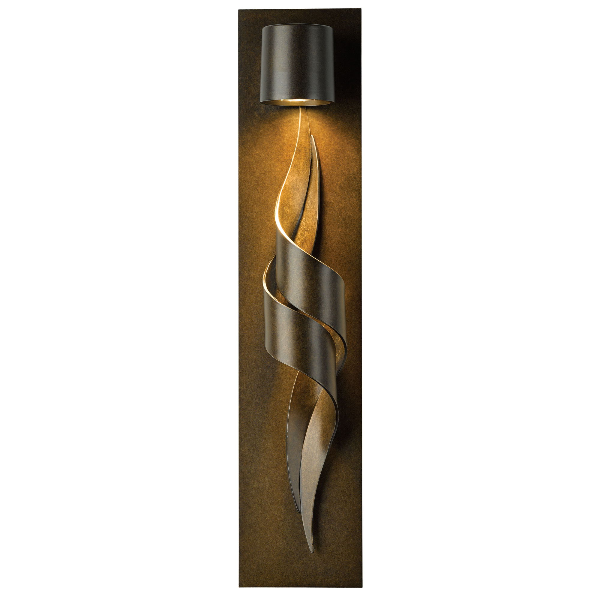 flux outdoor wall sconce by hubbardton forge 30309005no - Hubbardton Forge