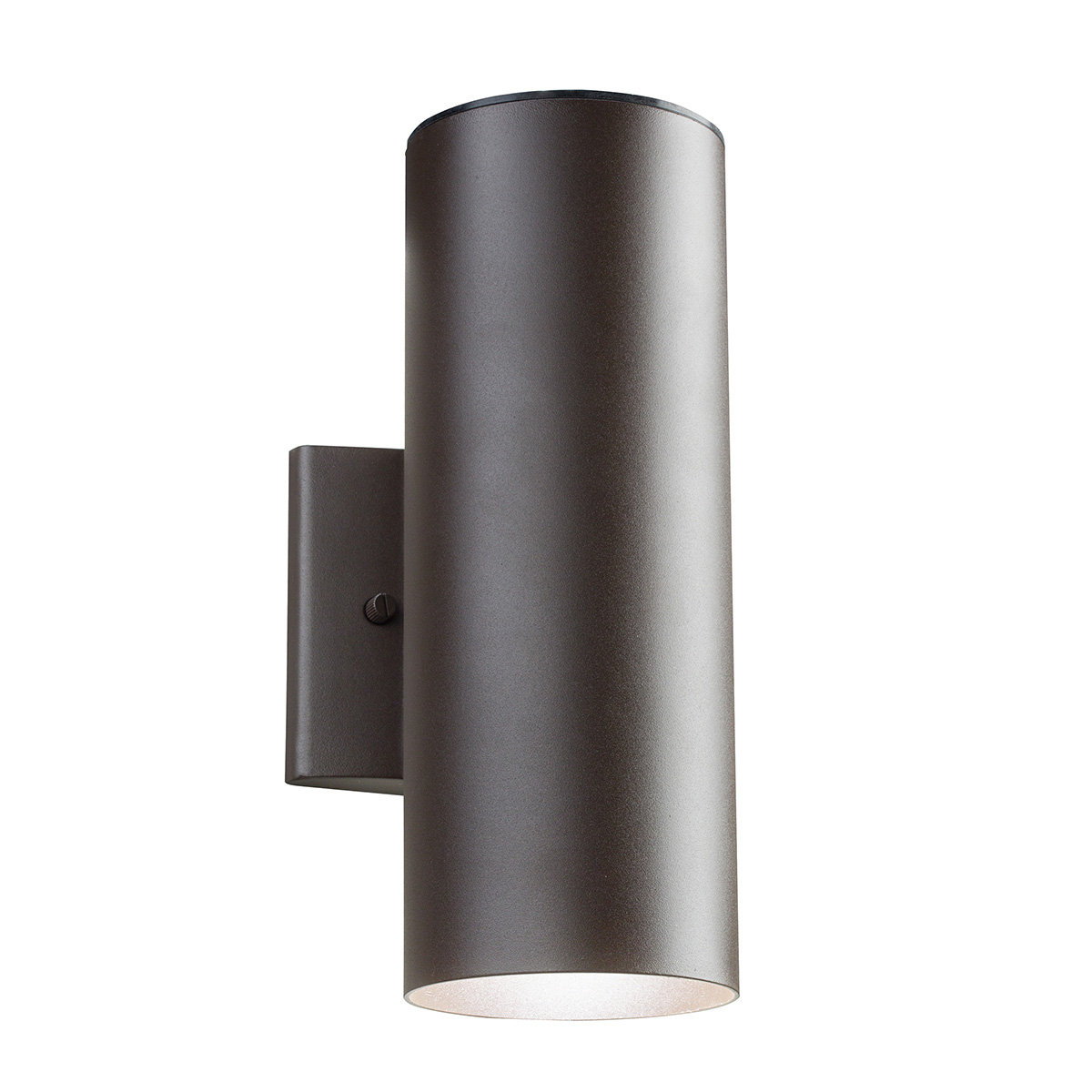 11251 outdoor led up down wall sconce by kichler 11251azt30