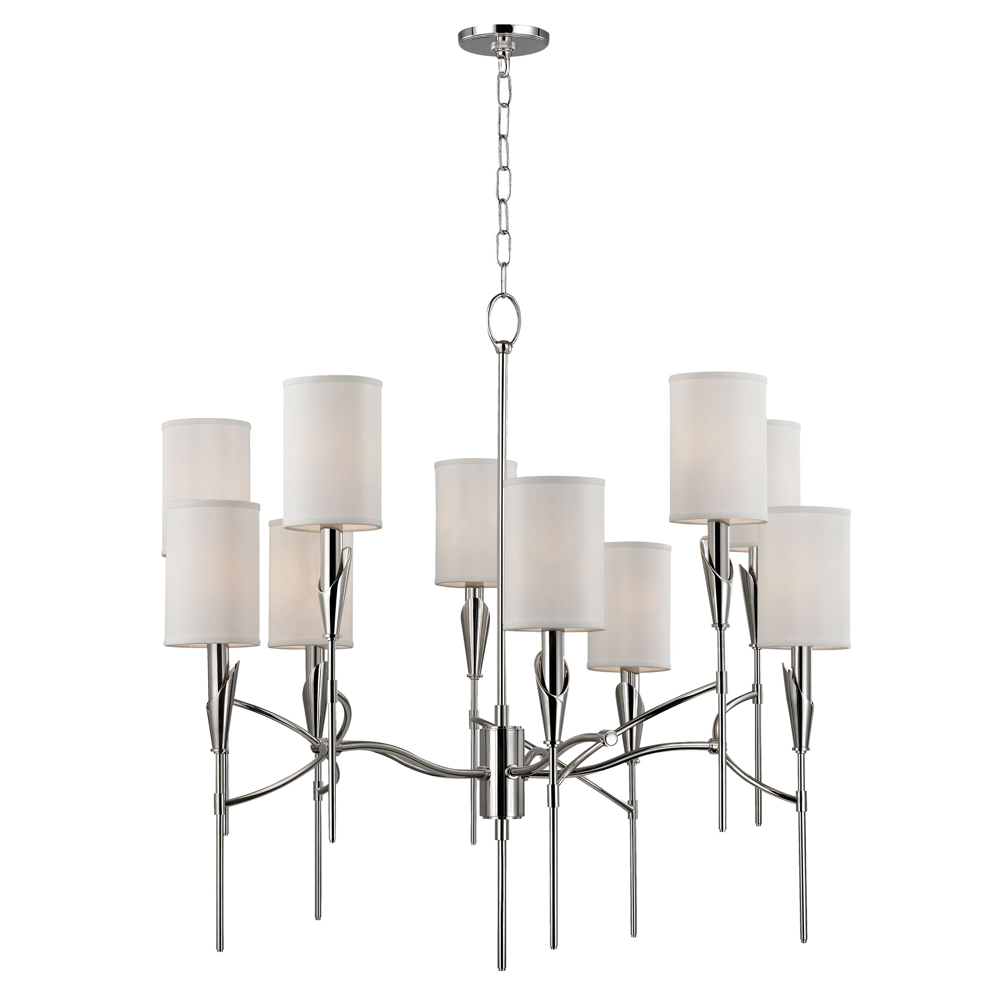Chandelier by hudson valley lighting 1305 pn tate chandelier by hudson valley lighting 1305 pn arubaitofo Choice Image
