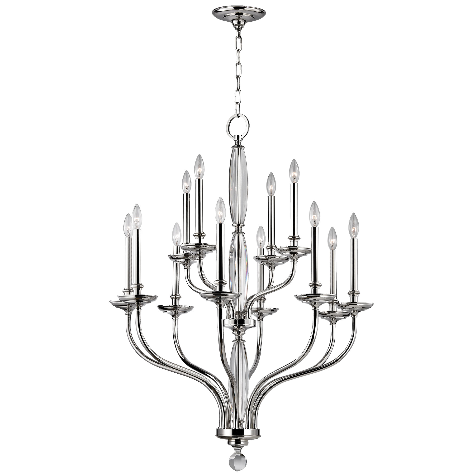 Chandelier by hudson valley lighting 6434 pn lauderhill chandelier by hudson valley lighting 6434 pn arubaitofo Choice Image