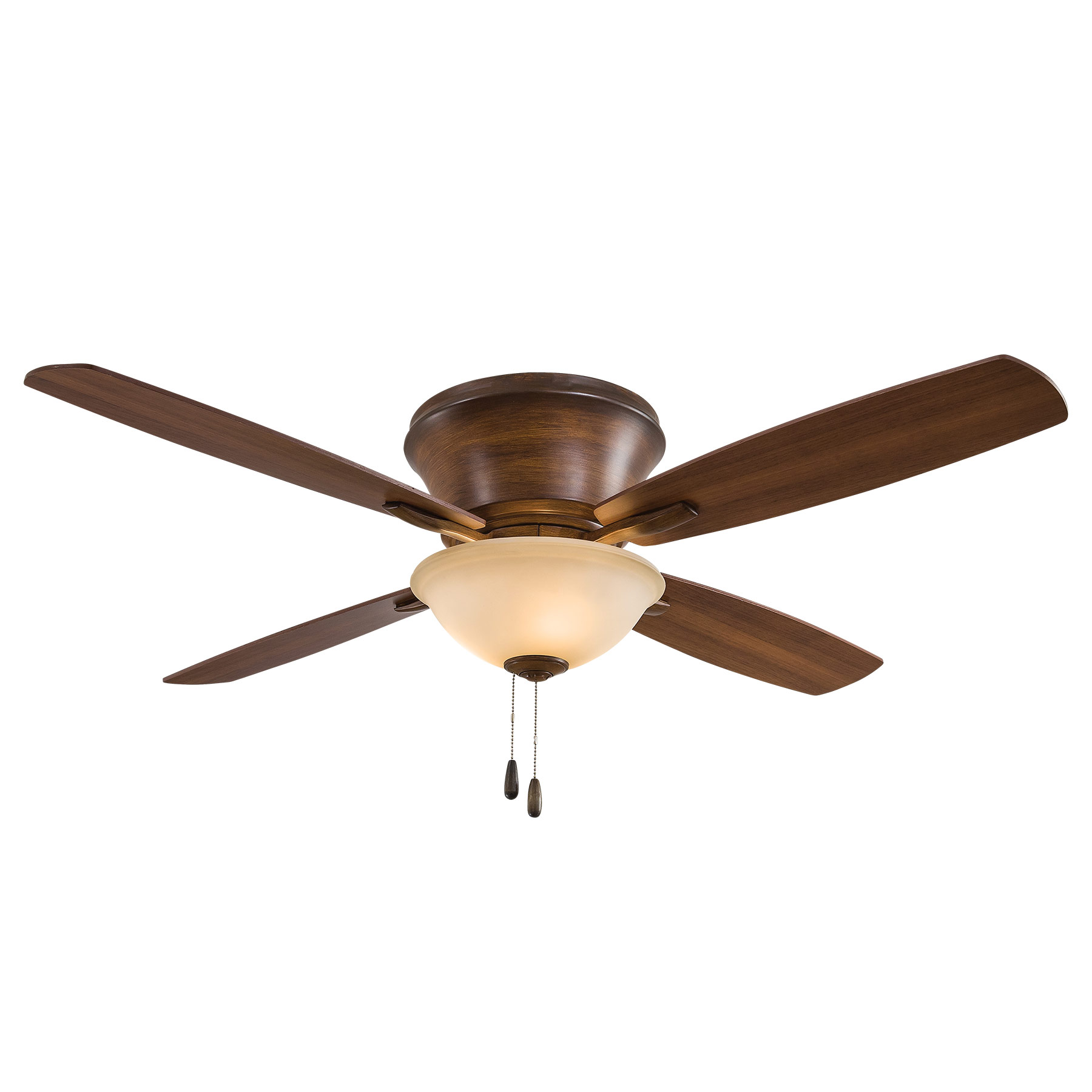 Ceiling Fans Mount: Mojo II Flush Mount Ceiling Fan By Minka Aire
