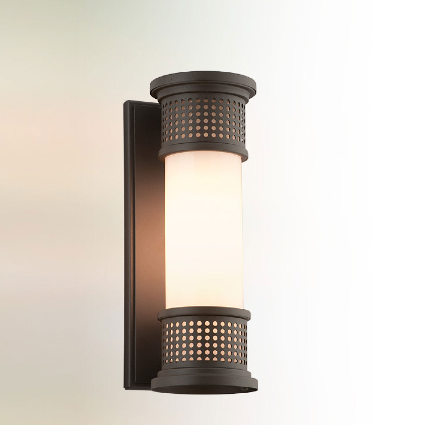 Fluorescent Exterior Wall Lights : Mcqueen Fluorescent Exterior Wall Sconce by Troy Lighting BF4671