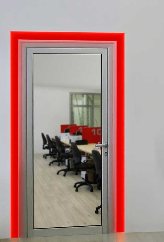 Verge Door Frame RGB 3W 24VDC Plaster-In LED System & Verge by PureEdge Lighting azcodes.com