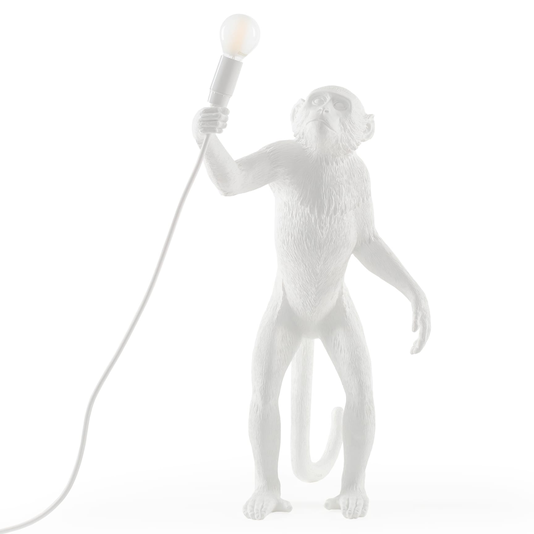 Standing table lamp by seletti sel 14880us monkey standing table lamp by seletti sel 14880us geotapseo Gallery