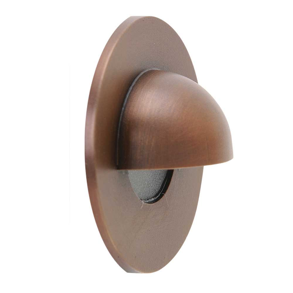 Gdg 3eb Outdoor Recessed Wall Step Light 120v By Spj Lighting Gdg3eb5mbr5wwaf12527k120