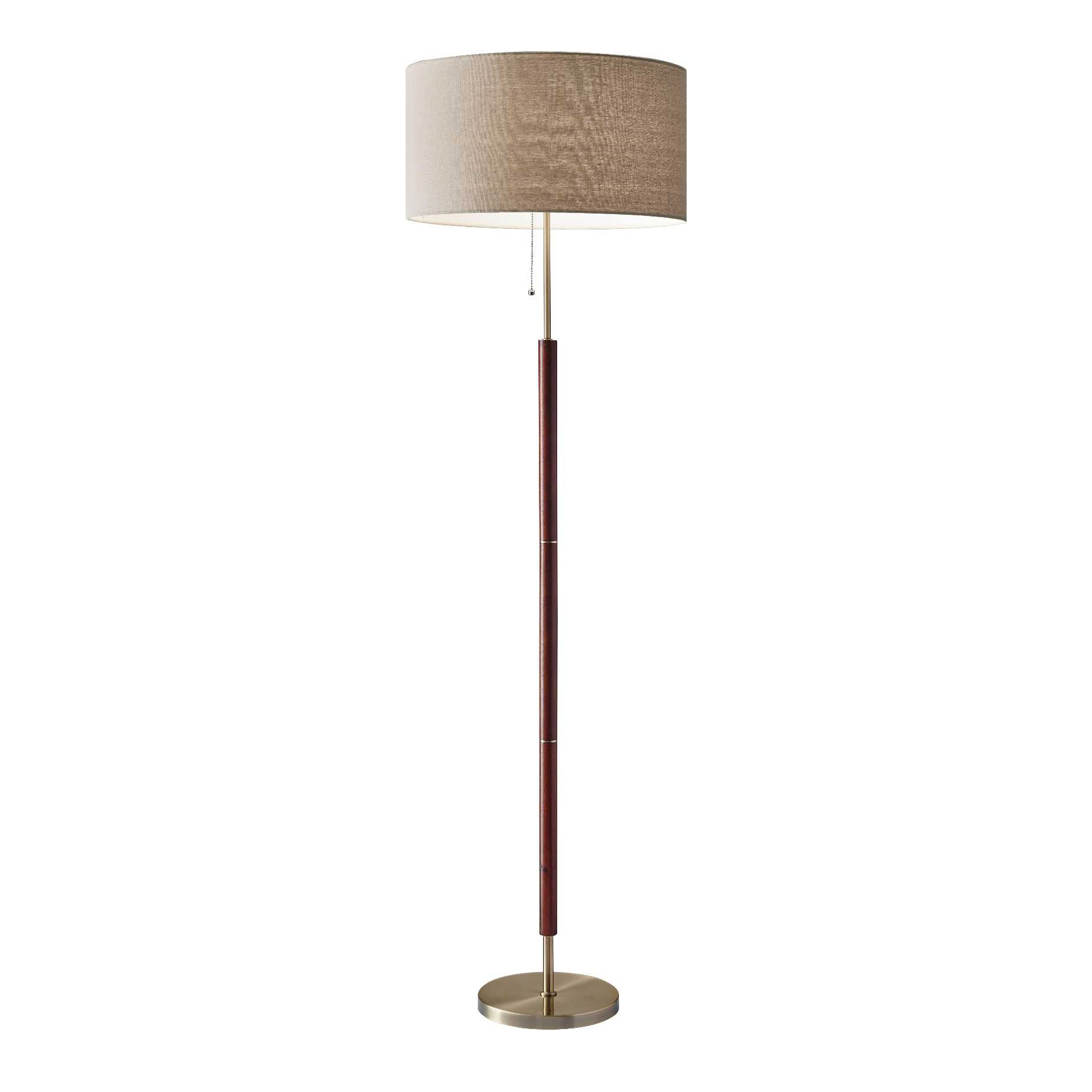 floor lamp by adesso corp   - hamilton floor lamp by adesso corp