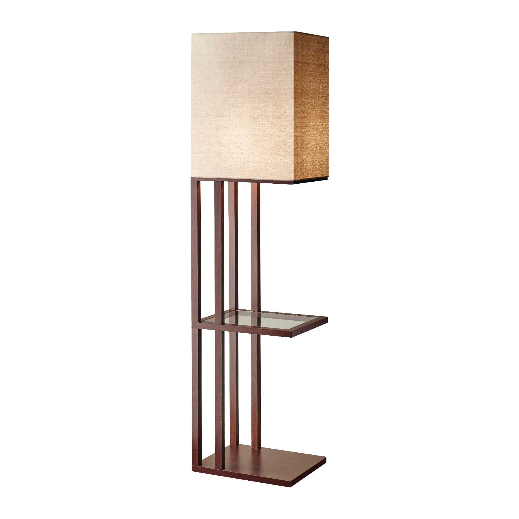 baxter shelf floor lamp by adesso corp 3516 15