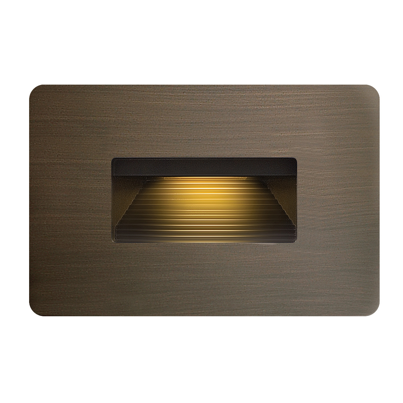 Superb 12V Luna Horizontal Step Light By Hinkley Lighting | 15508MZ Great Pictures