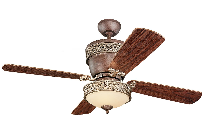 itm mount fan flush polegadas haste longa with com light luz downrod de inch blades ventilador speed teto ceiling fini nickel