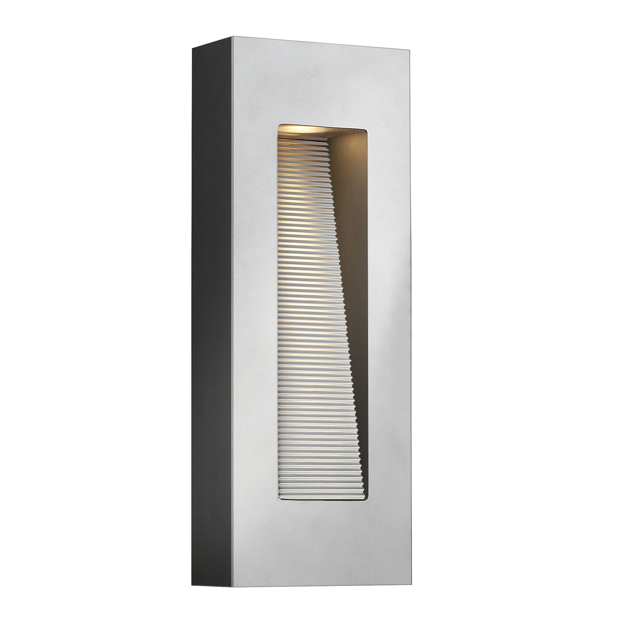 Luna Rectangle Outdoor Wall Light by Hinkley Lighting 1668TT-LED