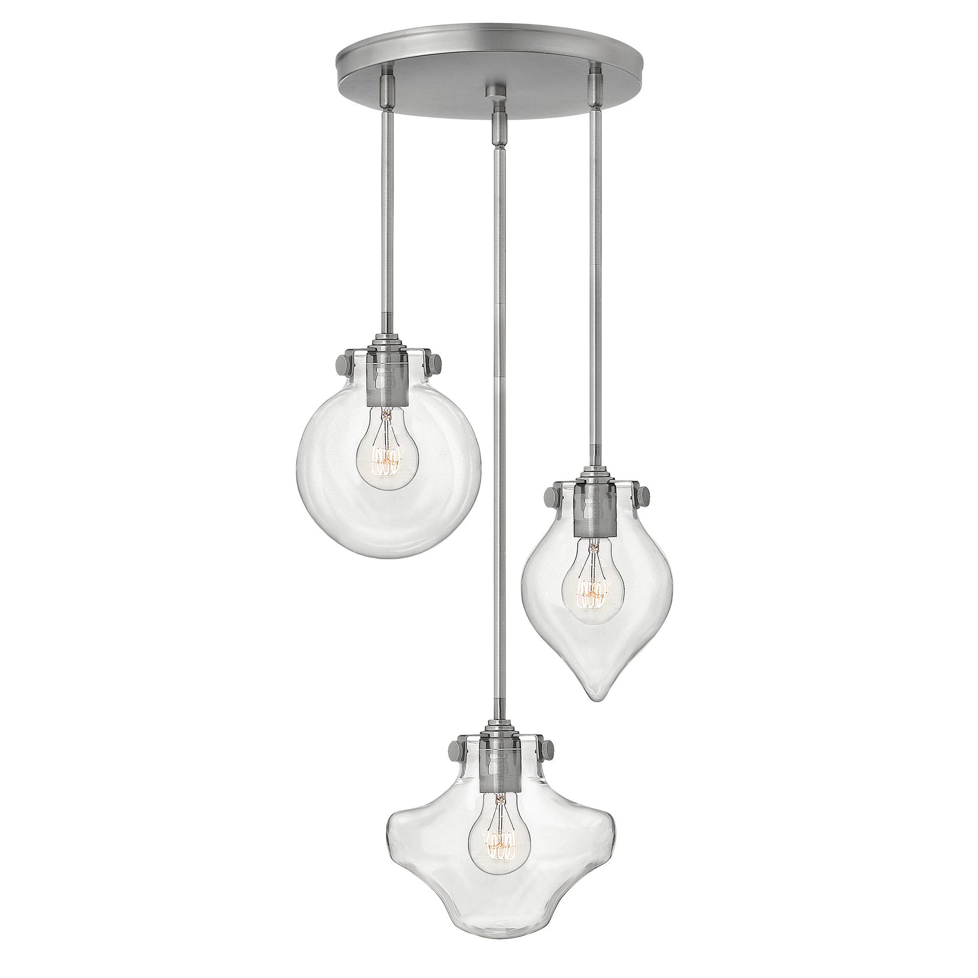 Congress multi light pendant by hinkley lighting 3198an aloadofball