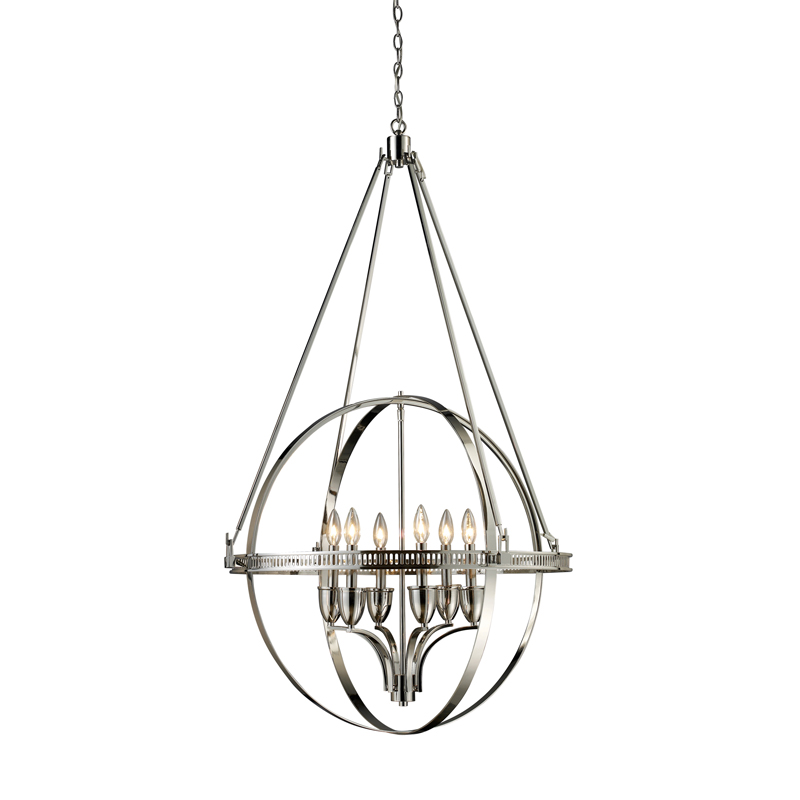 hemispheres chandelier by elk lighting 10193 6 rh lightology com Electrical Wiring Chart for a Chandelier Chandelier Wiring Harness