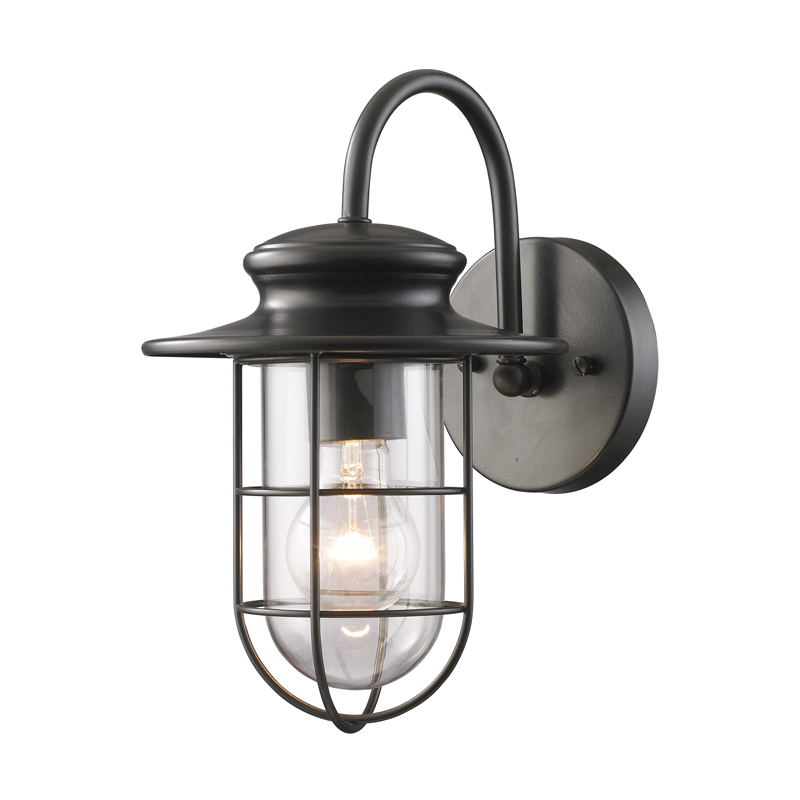 Portside outdoor wall sconce by elk lighting 422841 aloadofball Choice Image
