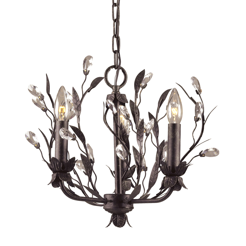 Circeo 3 Light Chandelier By Elk Lighting 8058