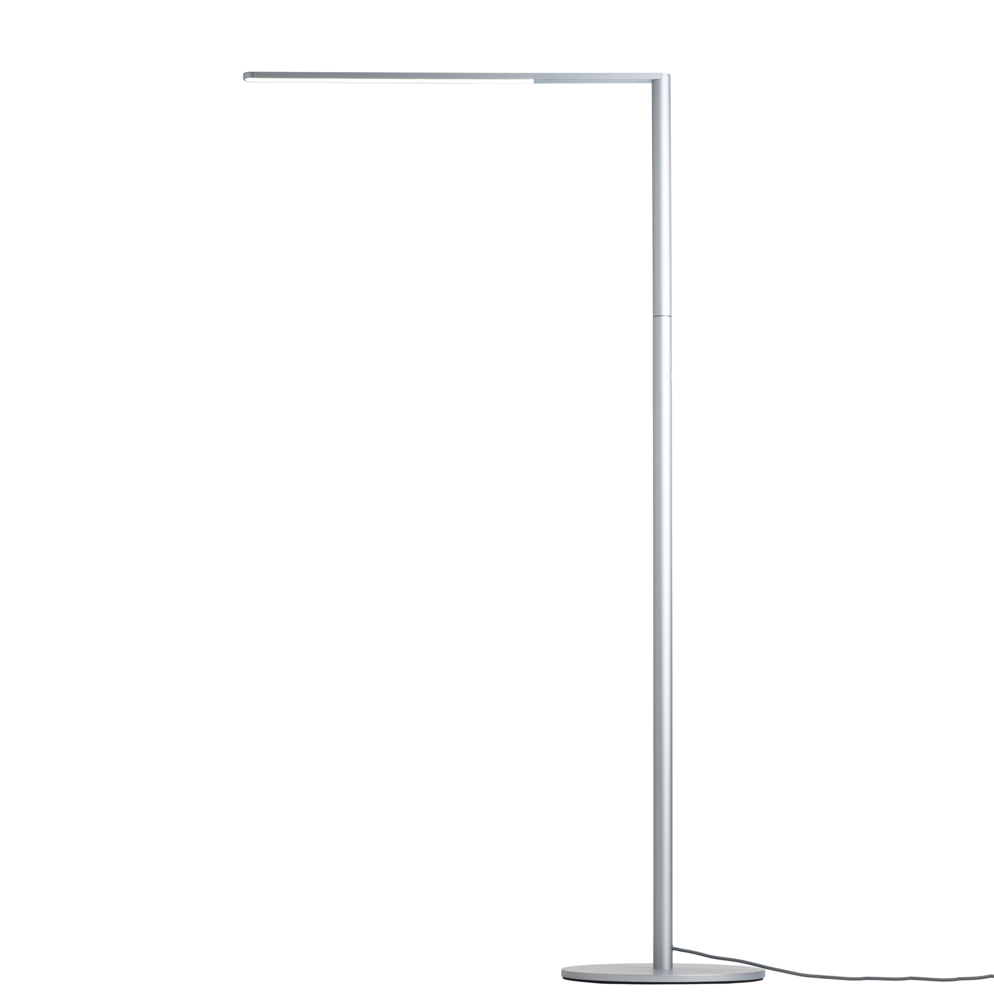 Lady7 Tunable White Floor Lamp By Koncept Lighting L7 Sil Flr