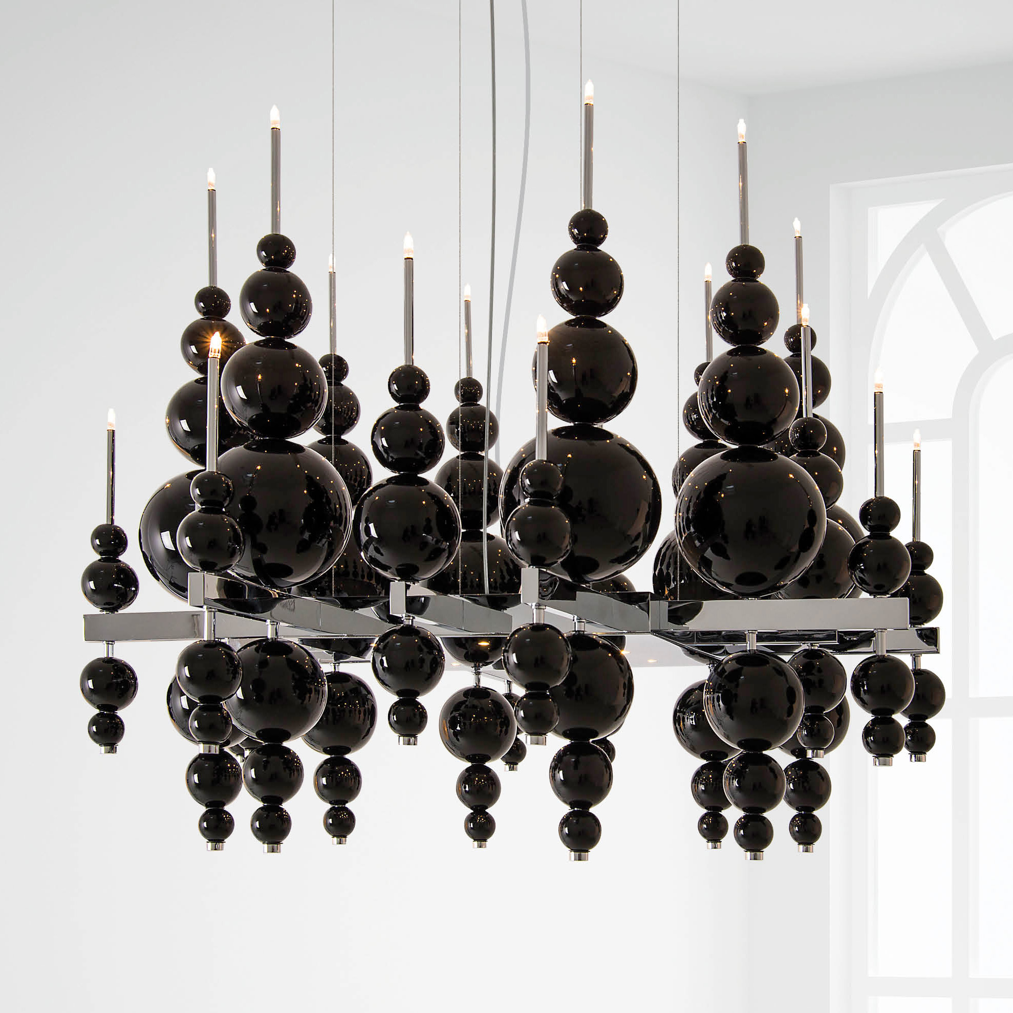 From moon square chandelier by ilfari ilf6419b02 tears from moon square chandelier by ilfari ilf6419b02 arubaitofo Choice Image