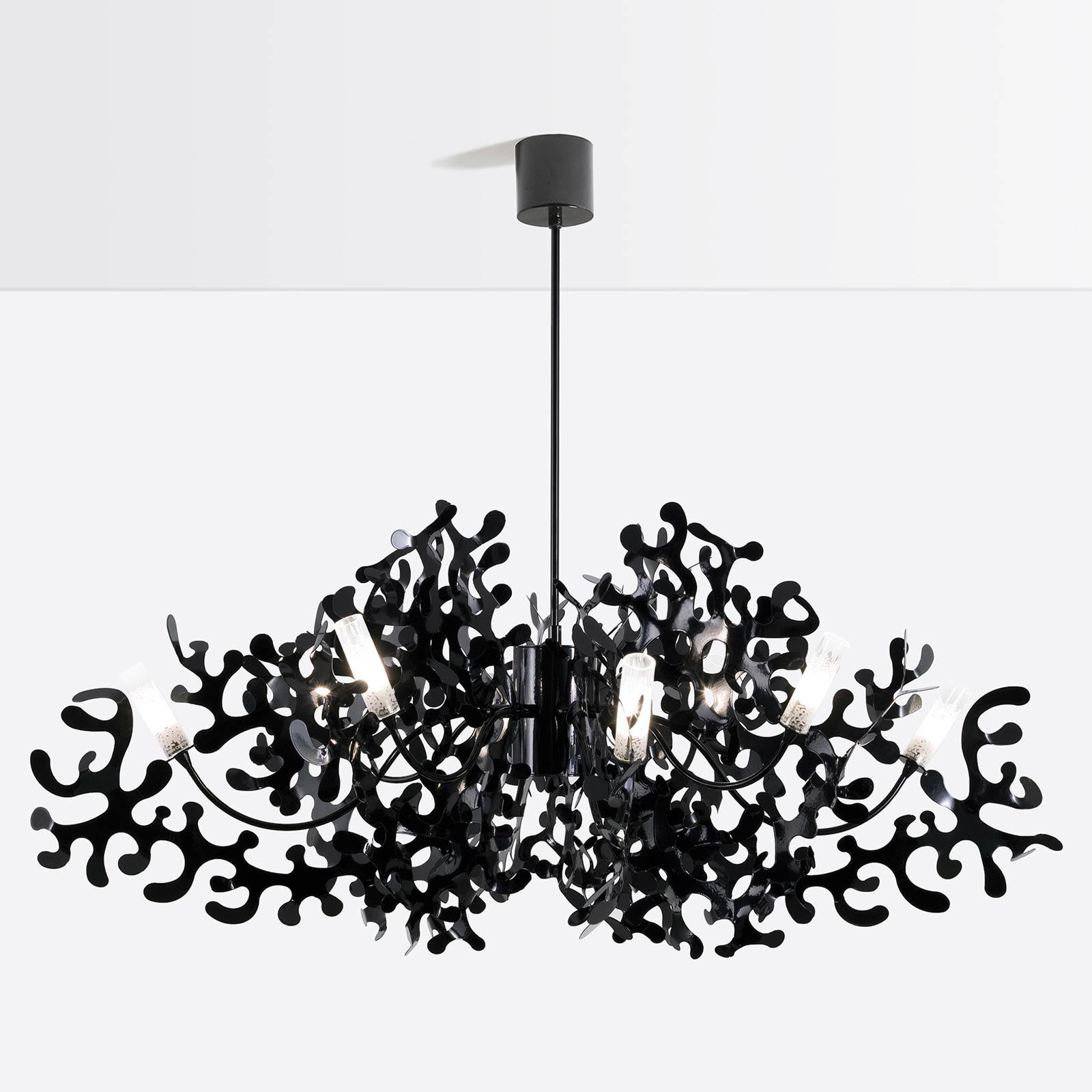 Coral chandelier by lumen center italia cor112 aloadofball Gallery