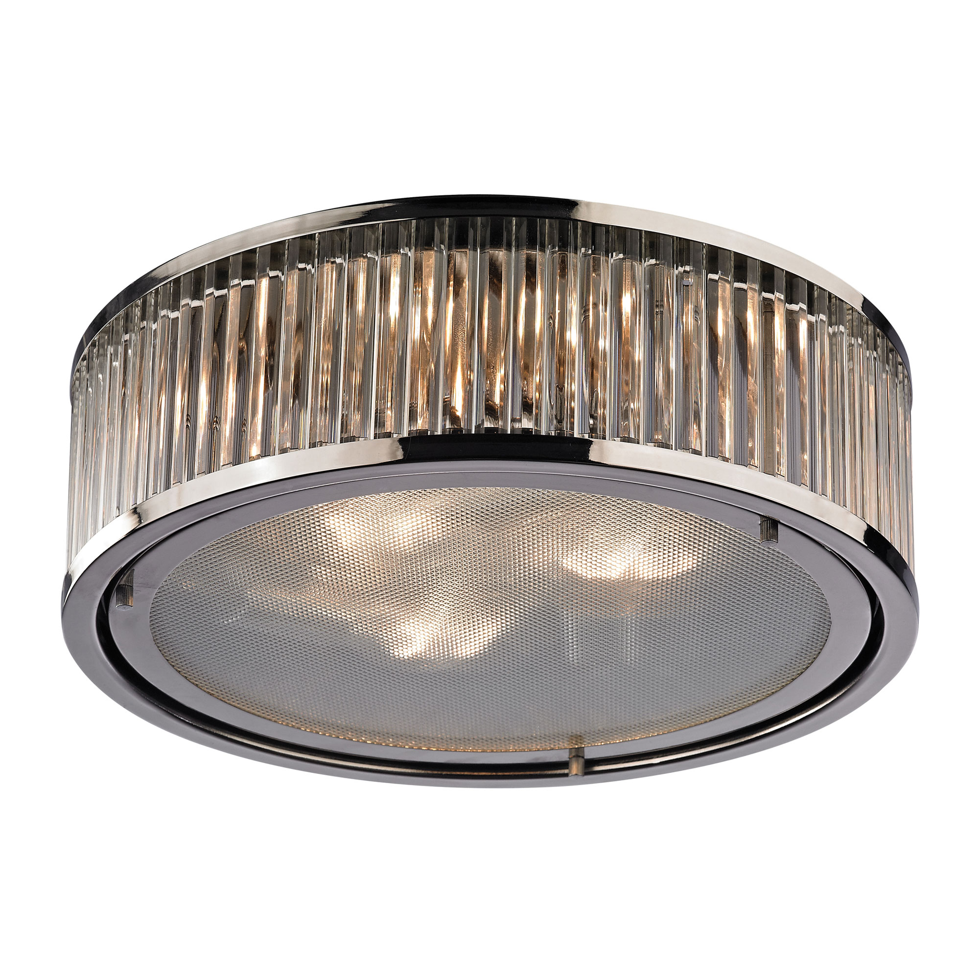 sc 1 st  Lightology & Linden Flush Mount by Elk Lighting | 46103/3