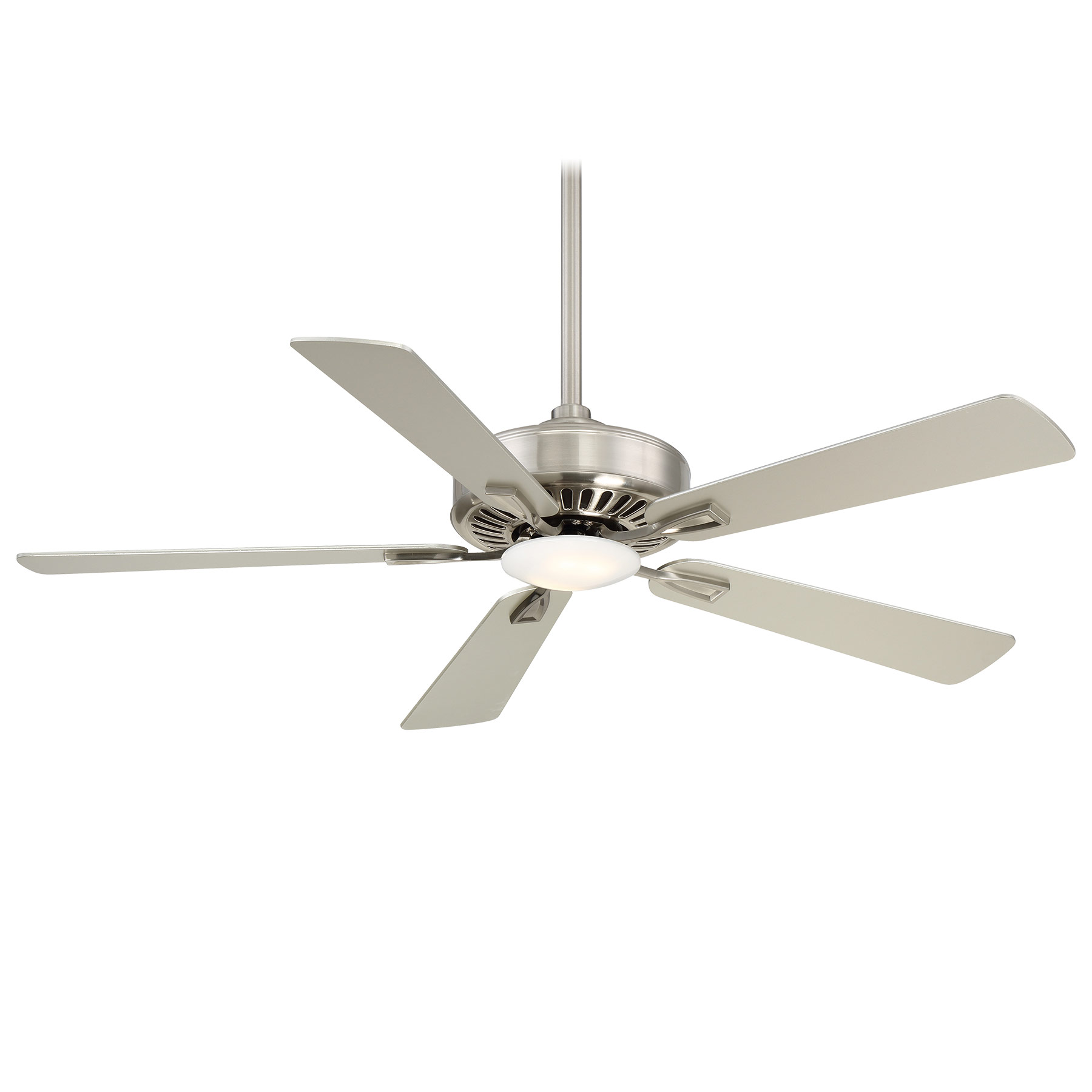fans aire ceiling fan silver by sl finish minka artemis