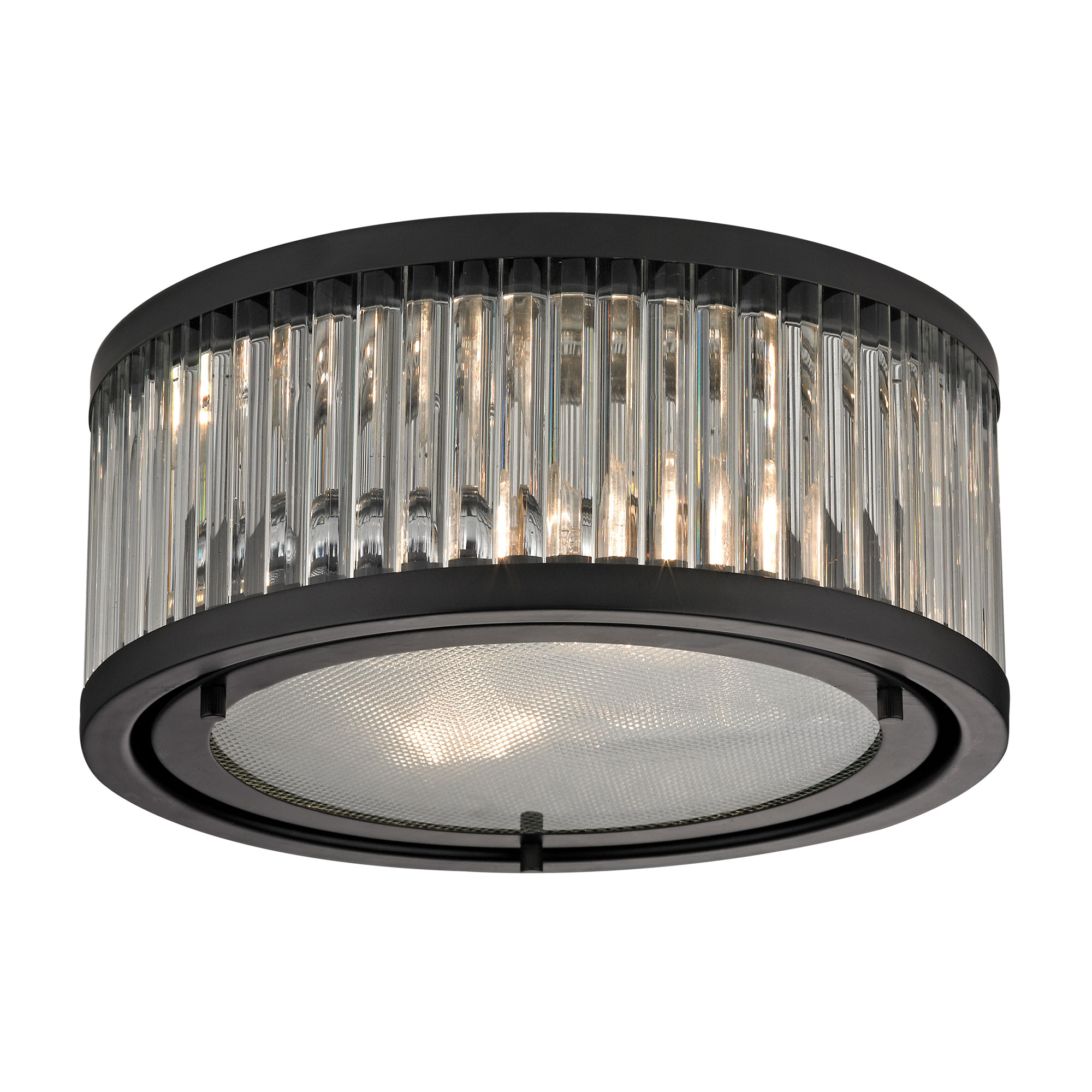 sc 1 st  Lightology & Linden Ceiling Flush Mount by Elk Lighting | 46132/2