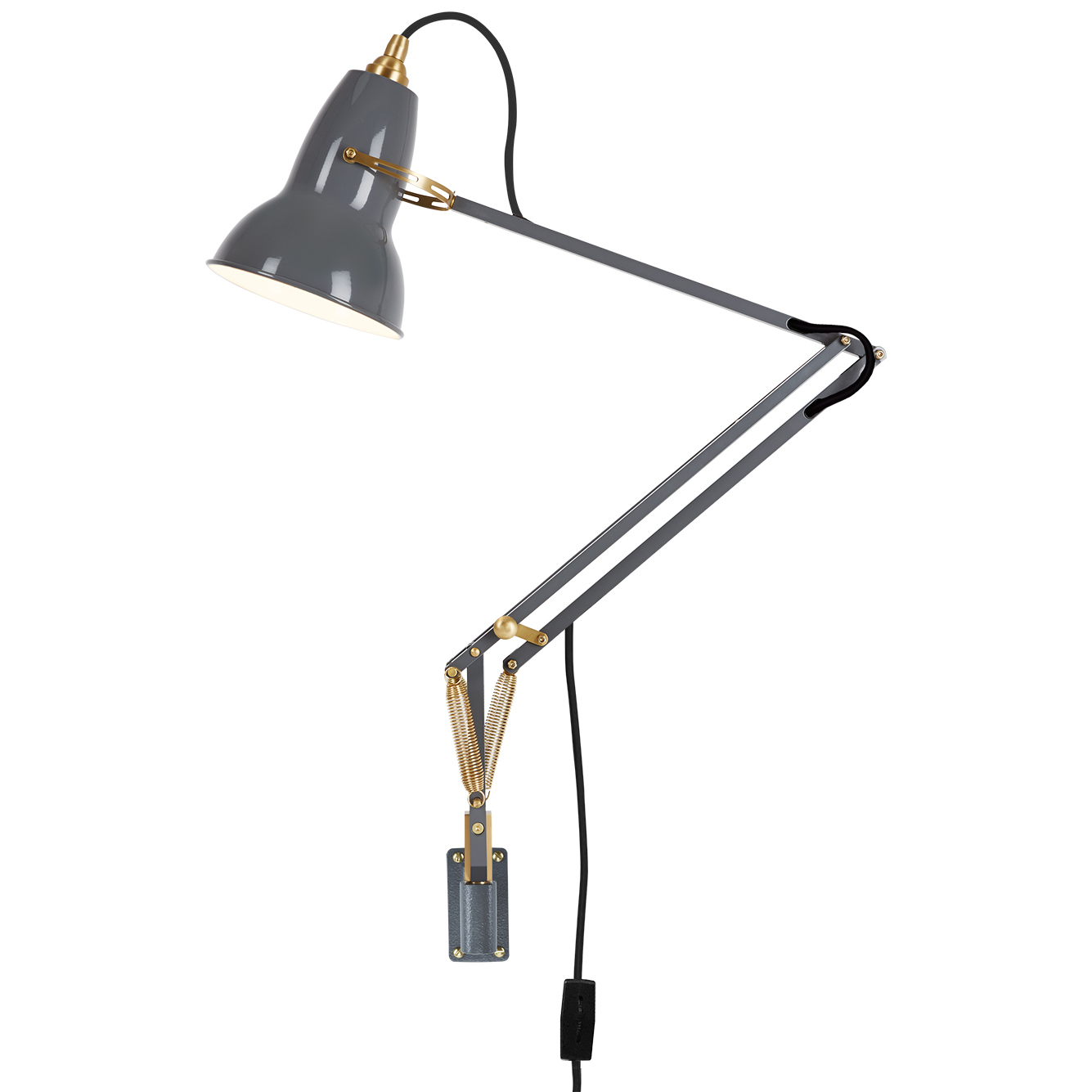 Original 1227 Br Wall Mounted Task Lamp By Anglepoise Ang 31515