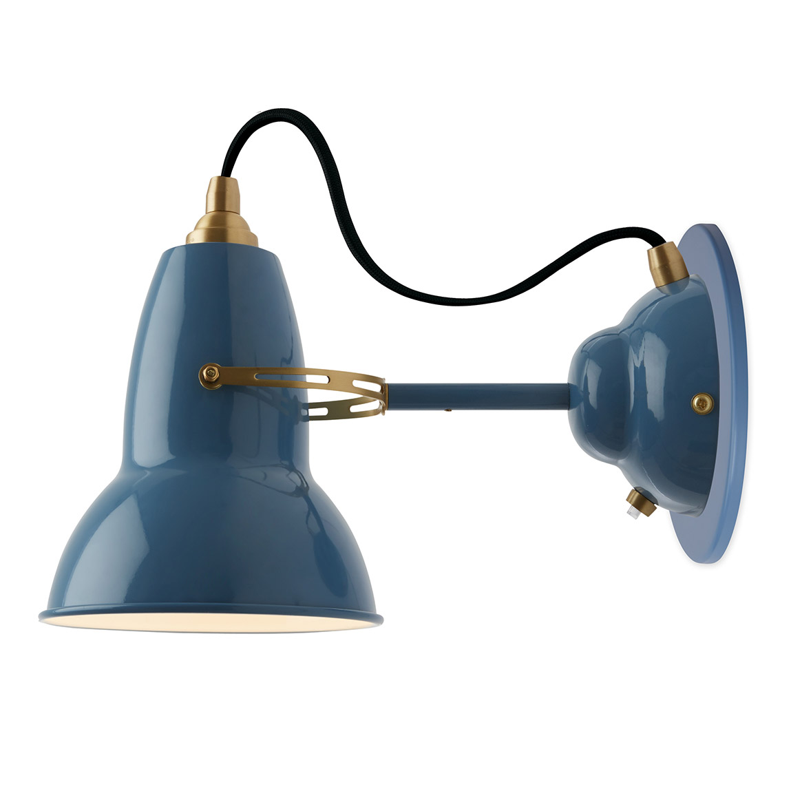 Original 1227 Brass Wall Light by Anglepoise | ANG-31527  sc 1 st  Lightology & 1227 Brass Wall Light by Anglepoise | ANG-31527 azcodes.com