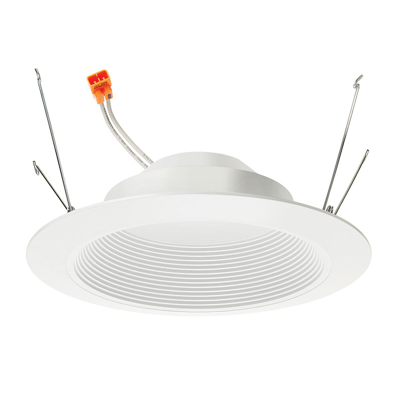6 Inch LED Retrofit Baffle Trim by Juno Lighting | 6RLDG3-927-7-WWH