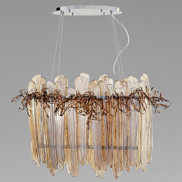 Thetis Island Chandelier by Cyan Designs   CY-07984
