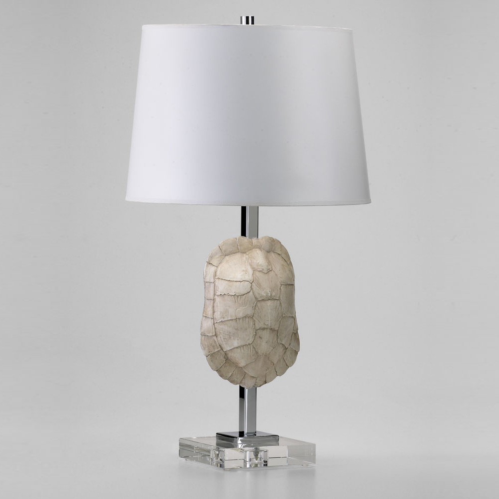 Tortoise Shell Table Lamp By Cyan Designs