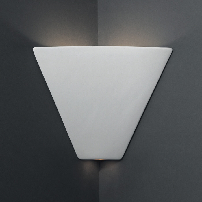 Trapezoid Corner Wall Sconce By Justice Design Cer 1860 Bis