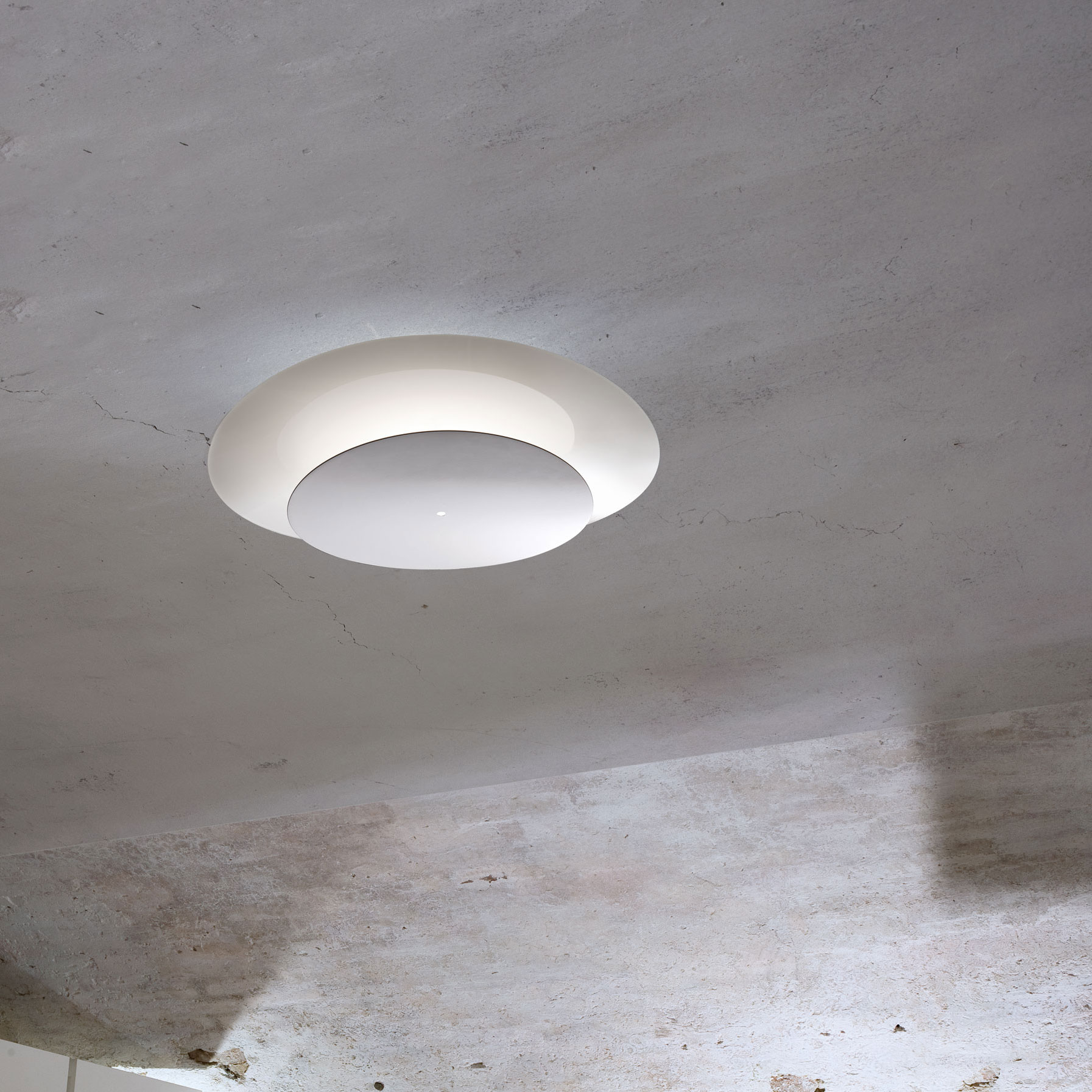 Plana Flush Ceiling Light By Itama By Scangift Plpla45