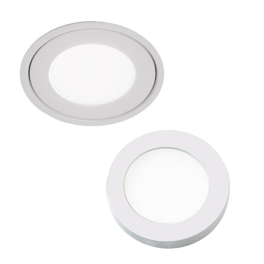 Edge Lit Recessed Surface On Light By Wac Lighting Hr Led90 27 Wt