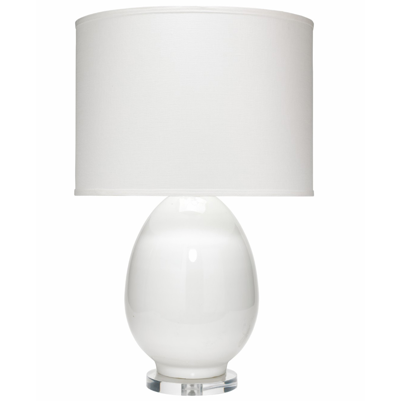 Egg table lamp by jamie young company 1egg tlwh2drum 131lg aloadofball Image collections