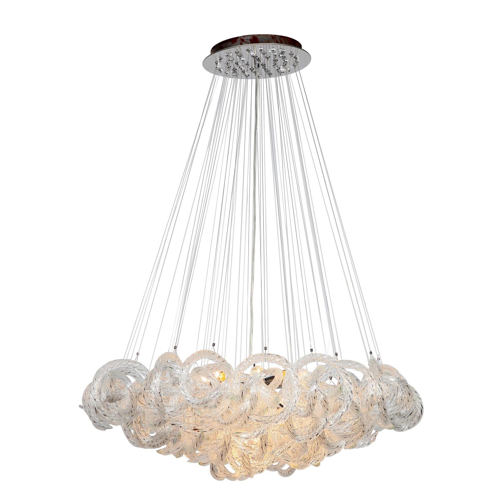 Chandelier by viz glass ch 2416 5c infinity chandelier by viz glass ch 2416 5c arubaitofo Images
